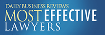 Daily Business Reviews, Most Effective Lawyers